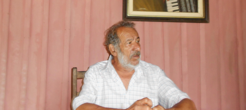 Morre aos 75 anos o companheiro Antônio Vieira Santos