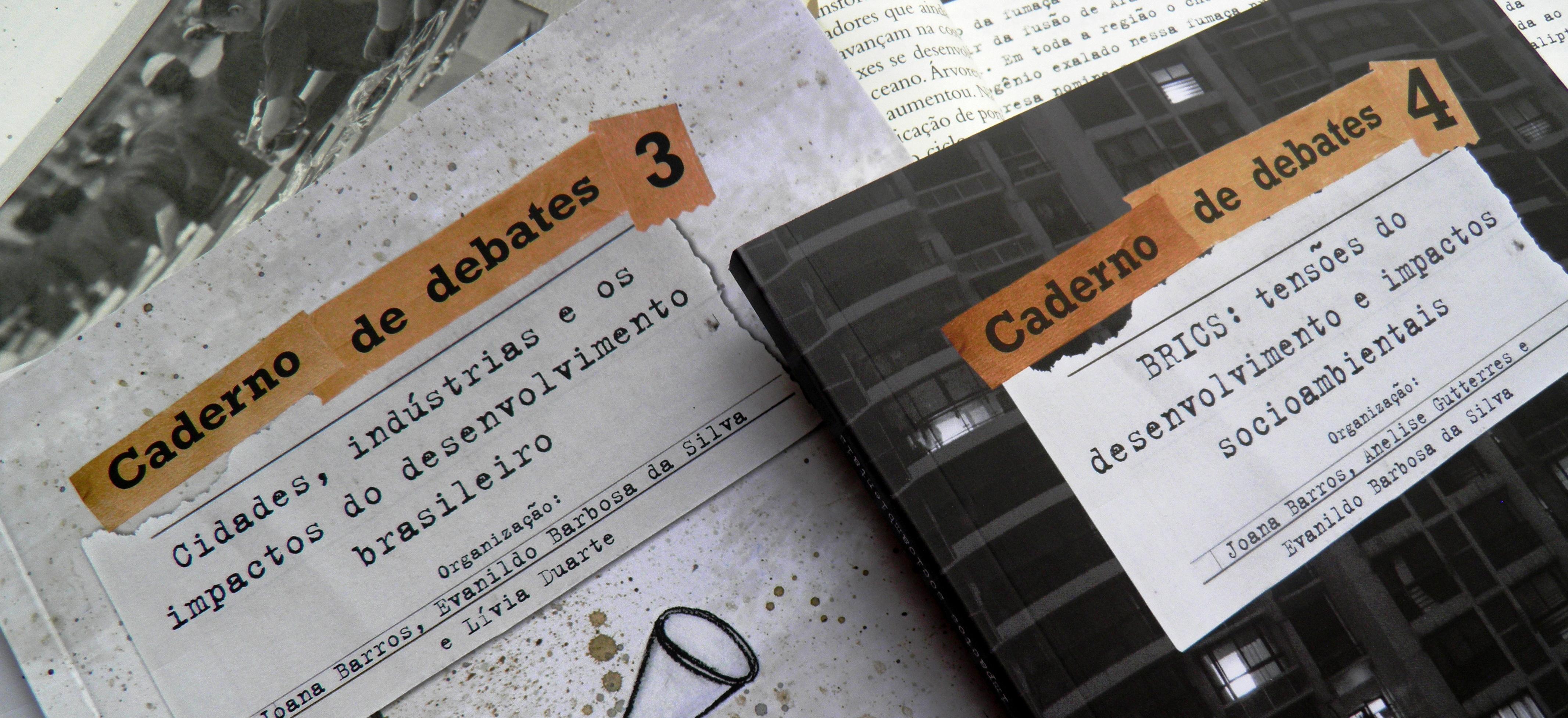 FASE lança dois novos volumes da série Caderno de Debates
