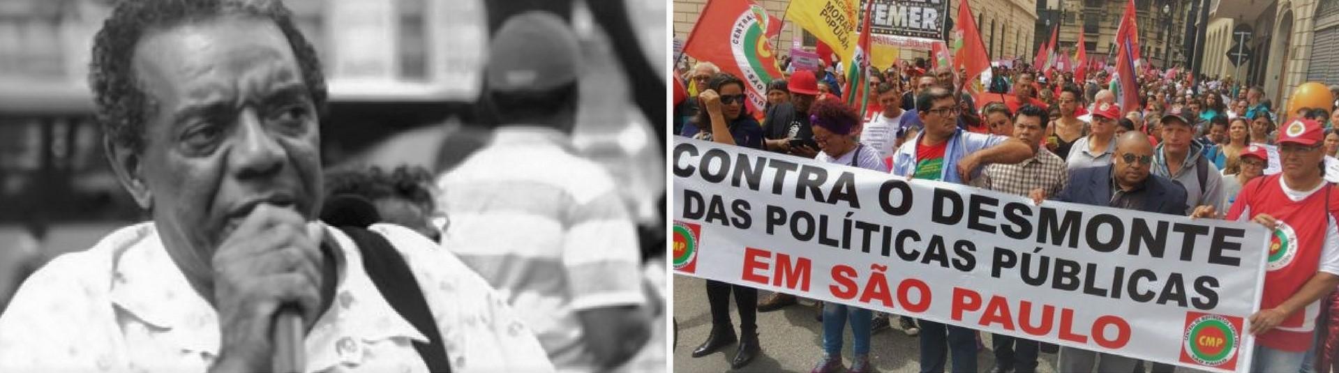 FASE presta solidariedade ao militante histórico Dito