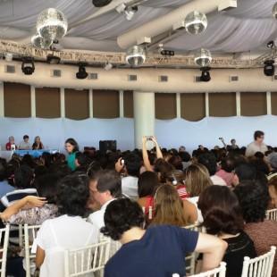 Auditório lotado com 1500 pessoas. (Foto: Evanildo Barbosa/FASE)