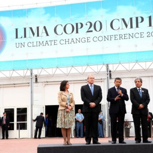 Abertura da COP 20, com a presença do presidente peruano Ollanta Humala (Foto: Presidência Peru)