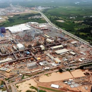 Construção de Petroquímica no Complexo de Suape em PE. (Foto: AI SUAPE/ Fotos Públicas)