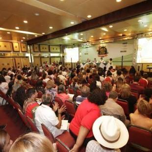 Evento reuniu 200 pessoas em Belém (Foto: Consea)