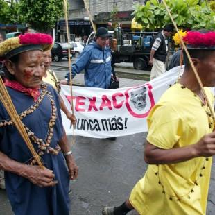 Indígenas Secoyas, um dos seis povos afetados por Chevron. (Foto: UDAPT)