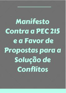 capa do manifesto