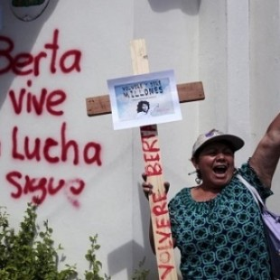 Berta vive e a luta segue. (Foto: Telesur/ Reprod.)