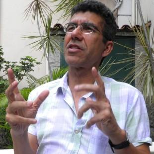 Aercio de Oliveira, coordenador do programa da FASE no RJ. (Foto: Gilka Resende/FASE)