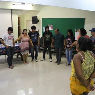 Apresentação do edital a coletivos do Pará. (Foto: FASE Amazônia)