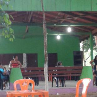 Comunidade inaugura barracão com apoio do Fundo Dema. (Egídio Sampaio/ Fundo Dema)