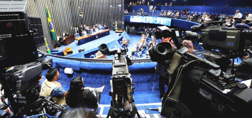 Plenário do Senado. (Foto: Edilson Rodrigues/Agência Senado)