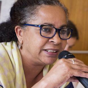 Rosimere Nery, coordenadora do programa da FASE em Pernambuco. (Foto: Rosilene Miliotti / FASE)
