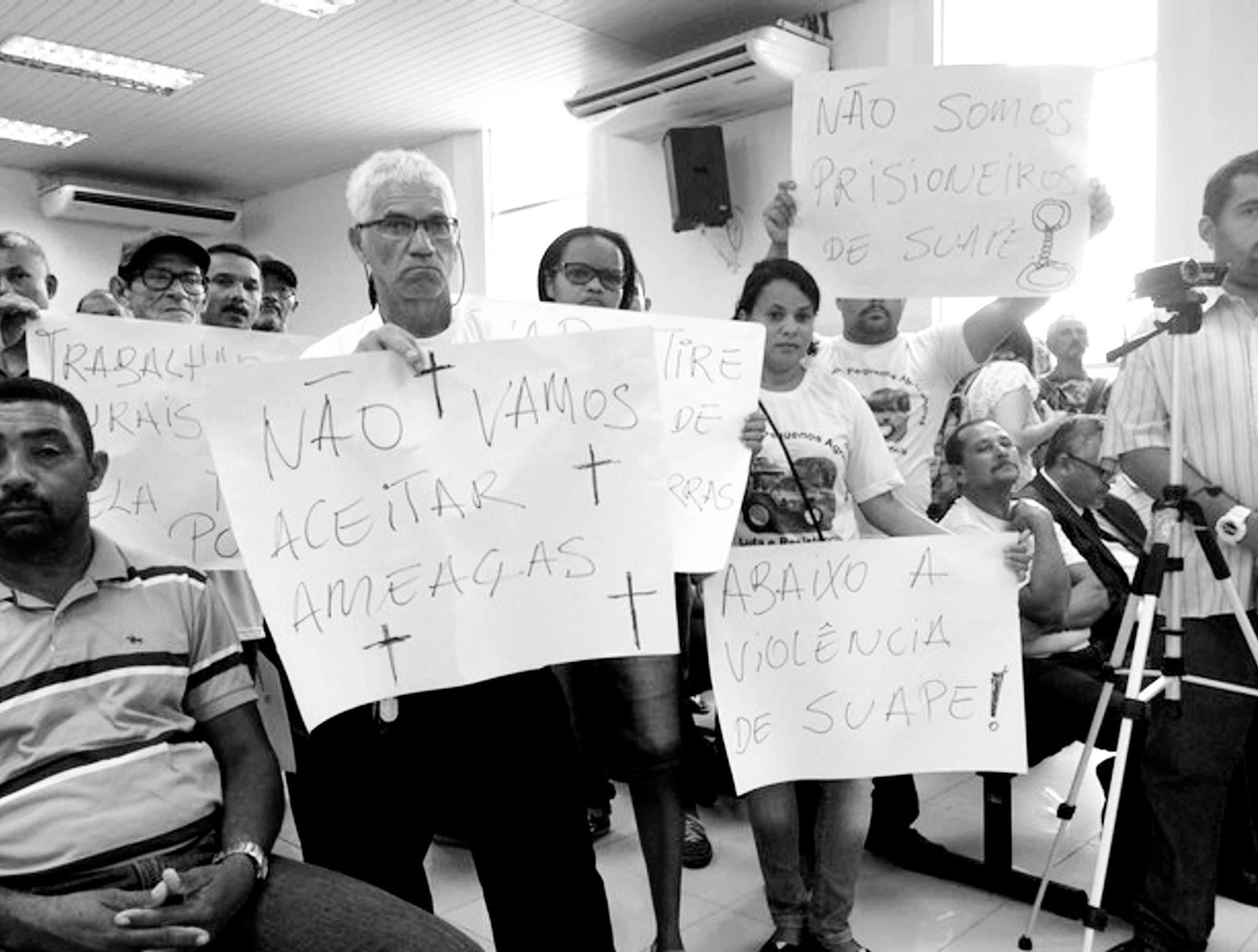 Moradores querem permanecer no território. (Foto: Fórum Suape)
