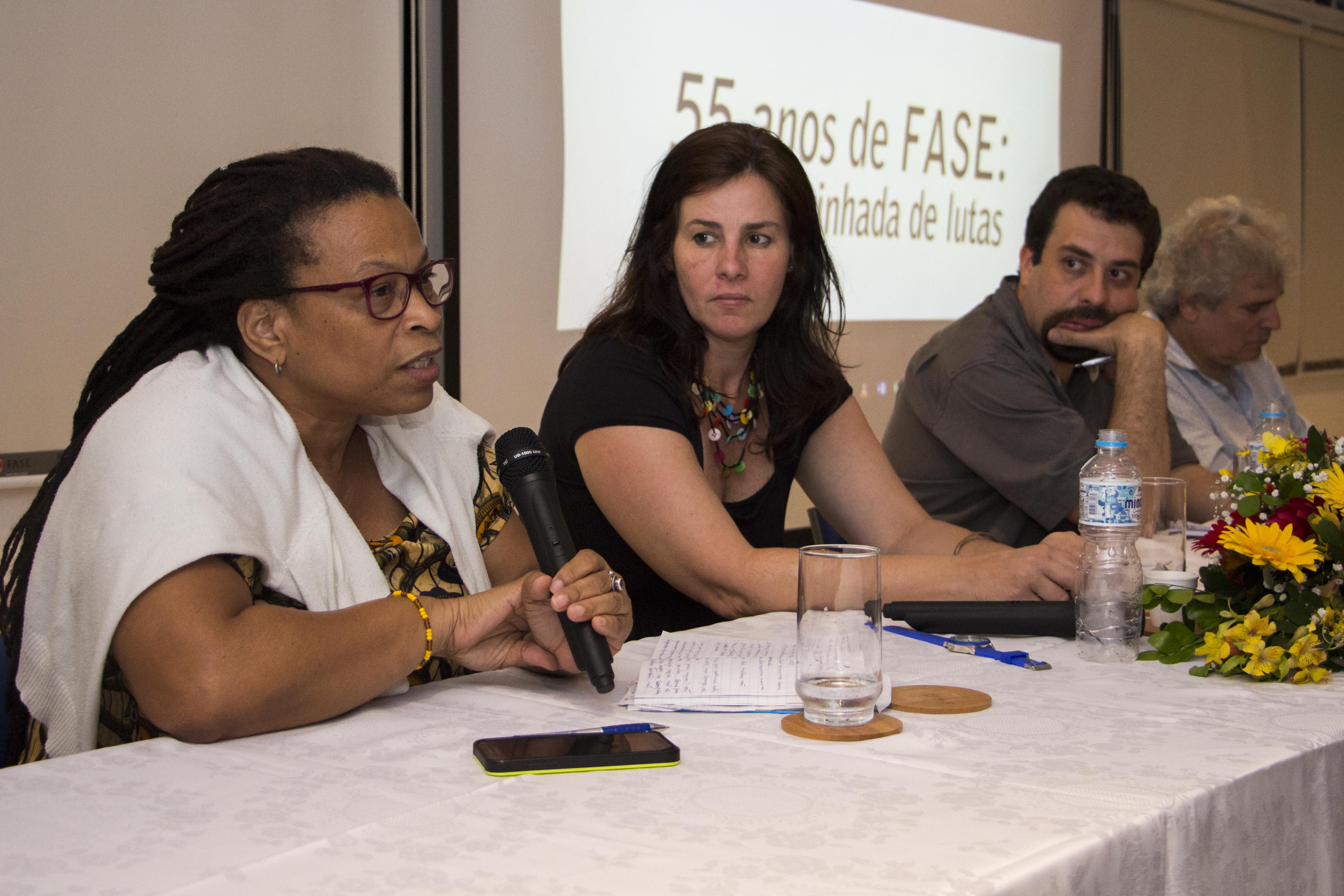 Seminário 55 anos da FASE. (Foto: Rosilene Miliotti / FASE)