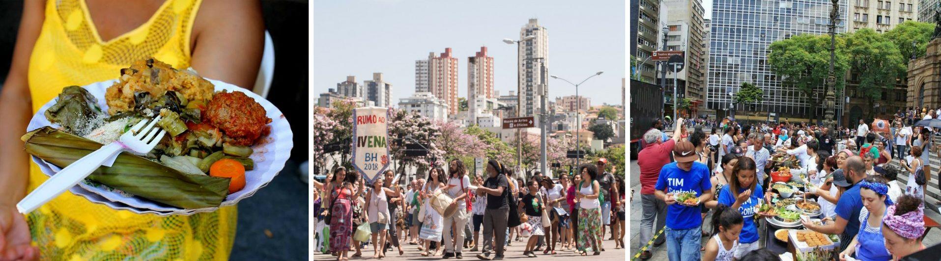 Comida de Verdade ocupa e colore ruas no Brasil
