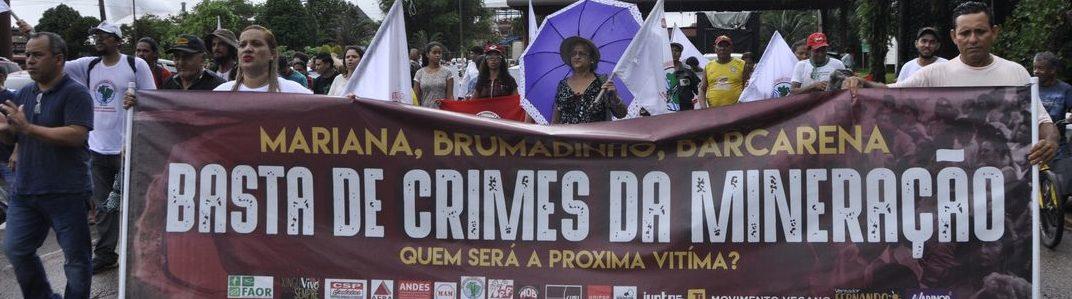 PA: Manifestantes ocupam entrada da Hydro Alunorte