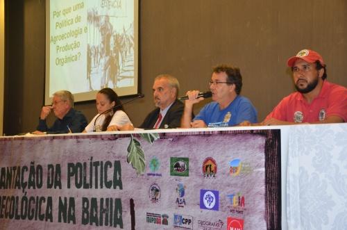 Ato político cobra aprovação da Lei de Agroecologia