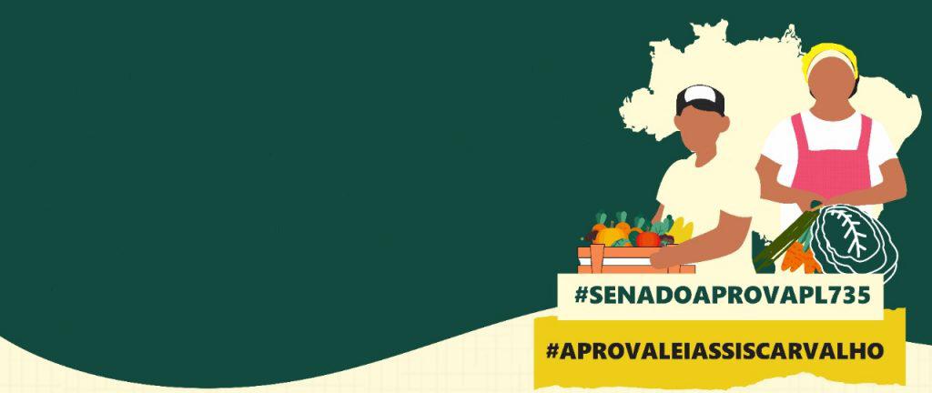 Movimentos pressionam pela aprovação do PL 735