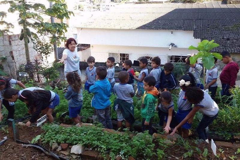 FASE e Ruca se unem para apoiar hortas comunitárias